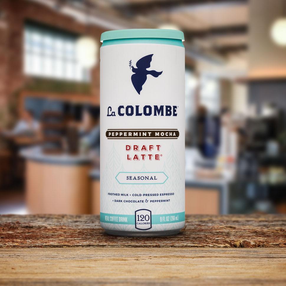 Review: La Colombe Peppermint Mocha Draft Latte