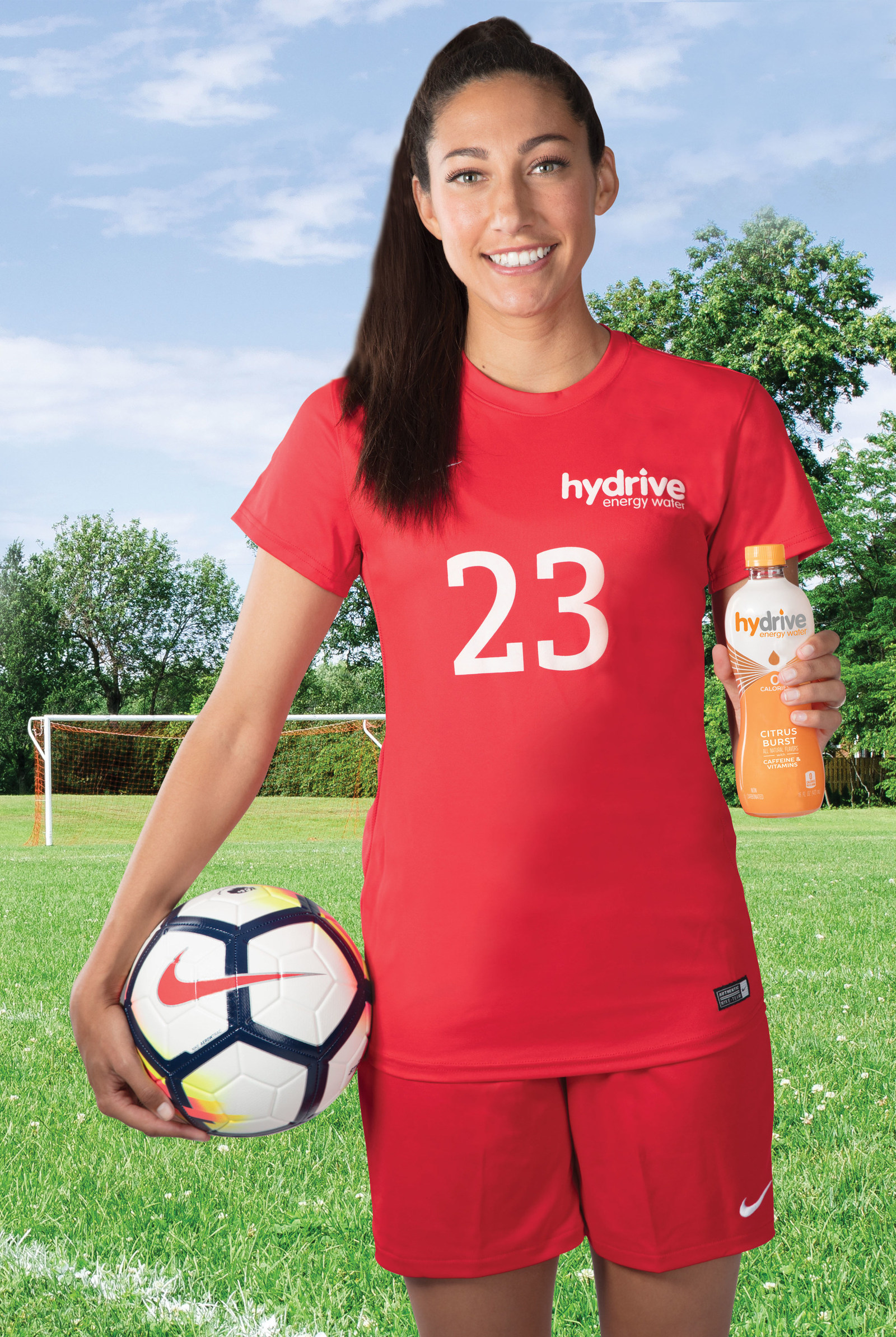 Hydrive Partners With Us Soccer Champion Christen Press