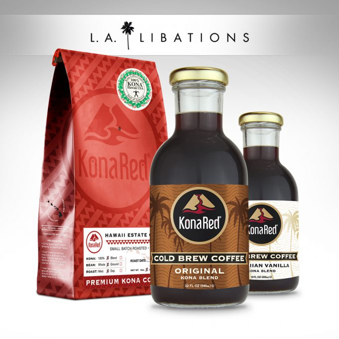 KonaRed Partners with L.A. Libations
