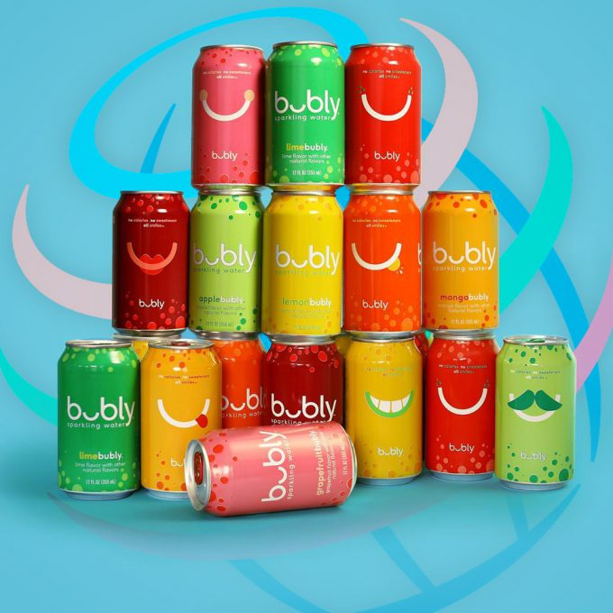 PepsiCo Launches Bubly Sparkling Water