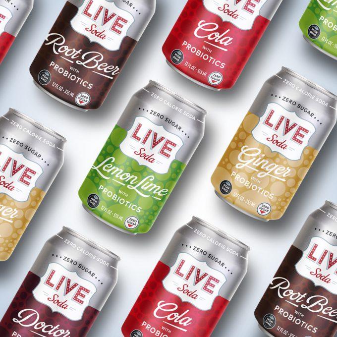 Live Soda Launches Probiotic Soda Line