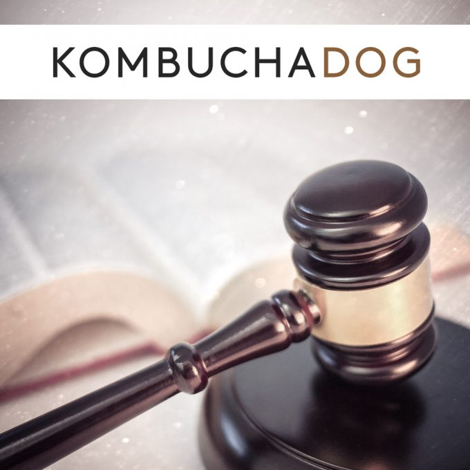 Kombucha Dog Targets Four Brands in Lawsuits