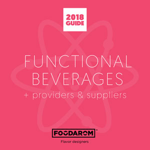 2018 Functional Beverage Guide