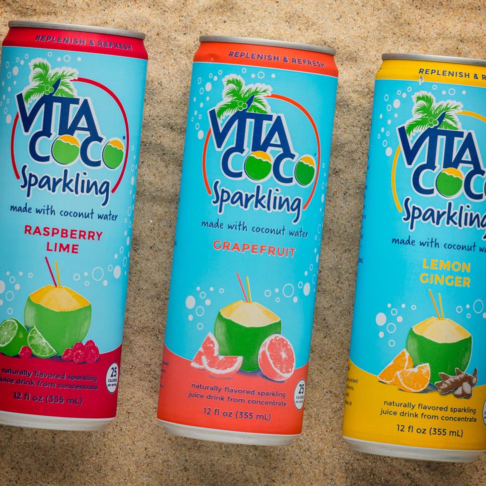 Vita Coco Coconut Water Bevnetcom Product Reviews Bevnetcom