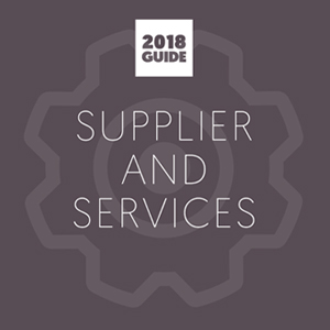 2018 Supplier and Services Guide