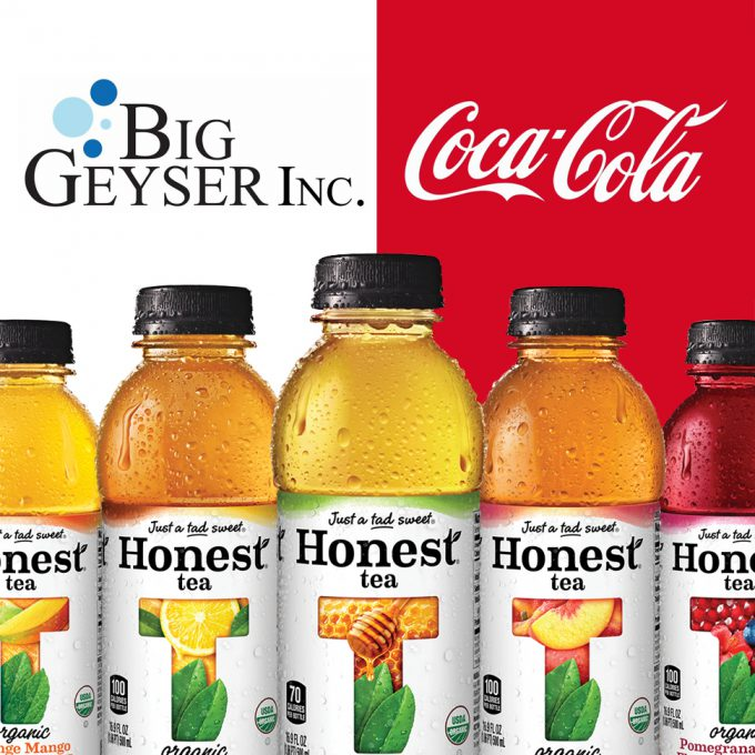 Coke Pulls Remaining Brands From Big Geyser
