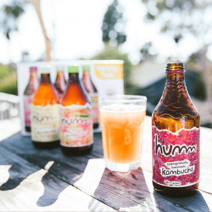 Humm Develops Non-Alcoholic Kombucha Brewing Process