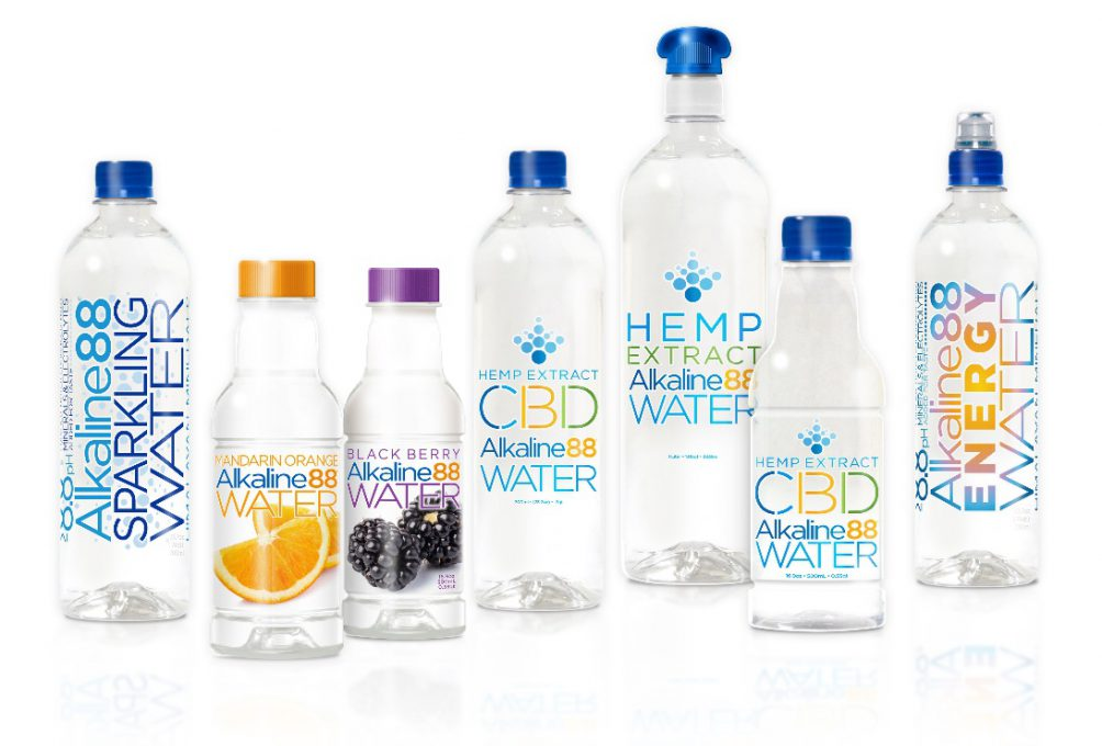 Alkaline88 CBD Infused Water To Hit Market At End Of Year - BevNET com
