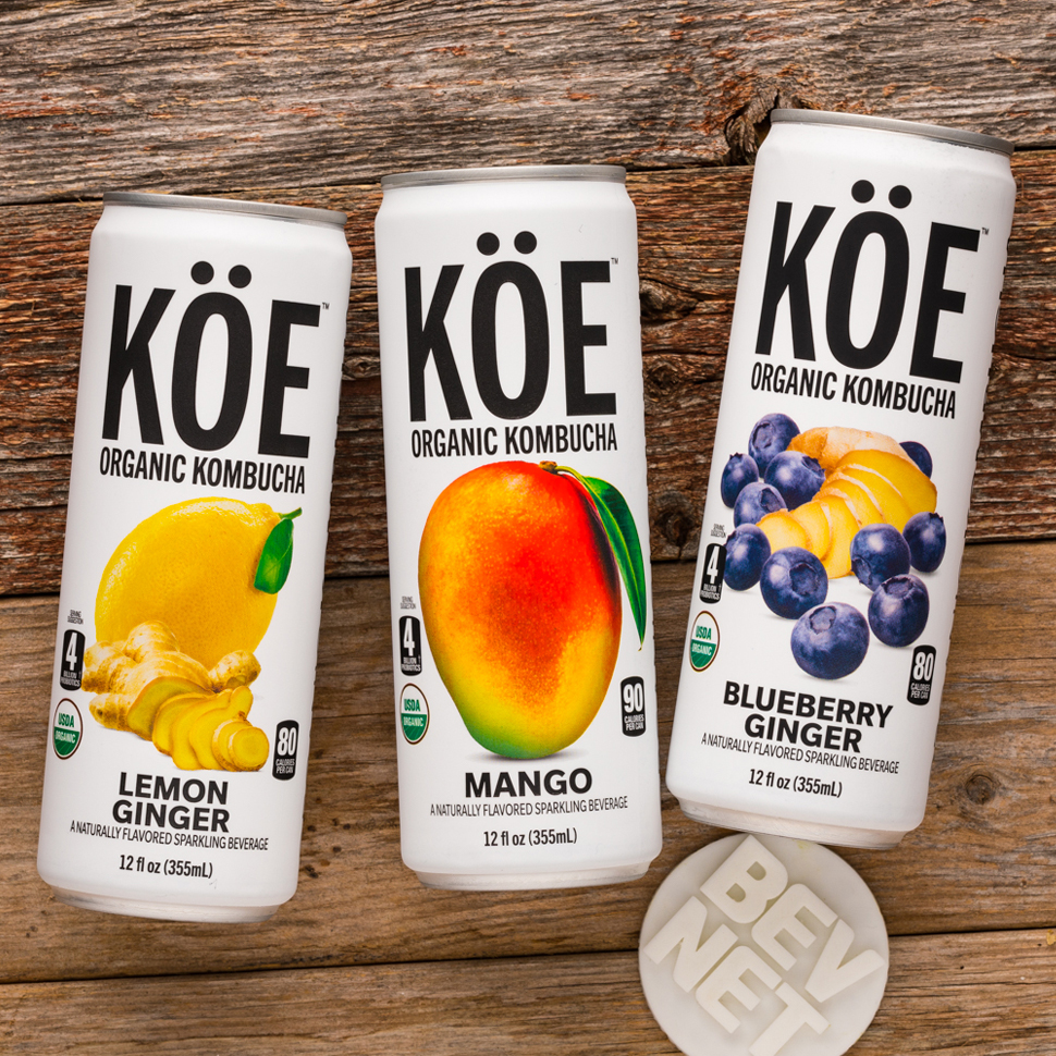 Review: KÖE Organic Kombucha