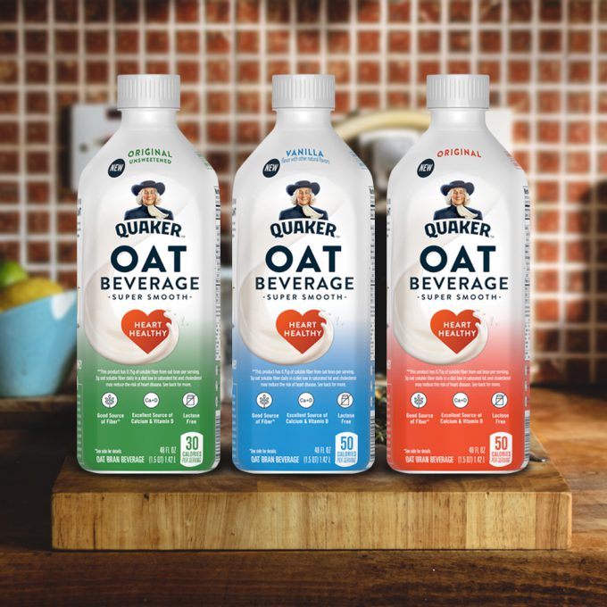 Quaker Enters Plant-Based Market With Oat Beverage