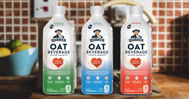 Quaker Enters Plant-Based Market With Oat Beverage ...