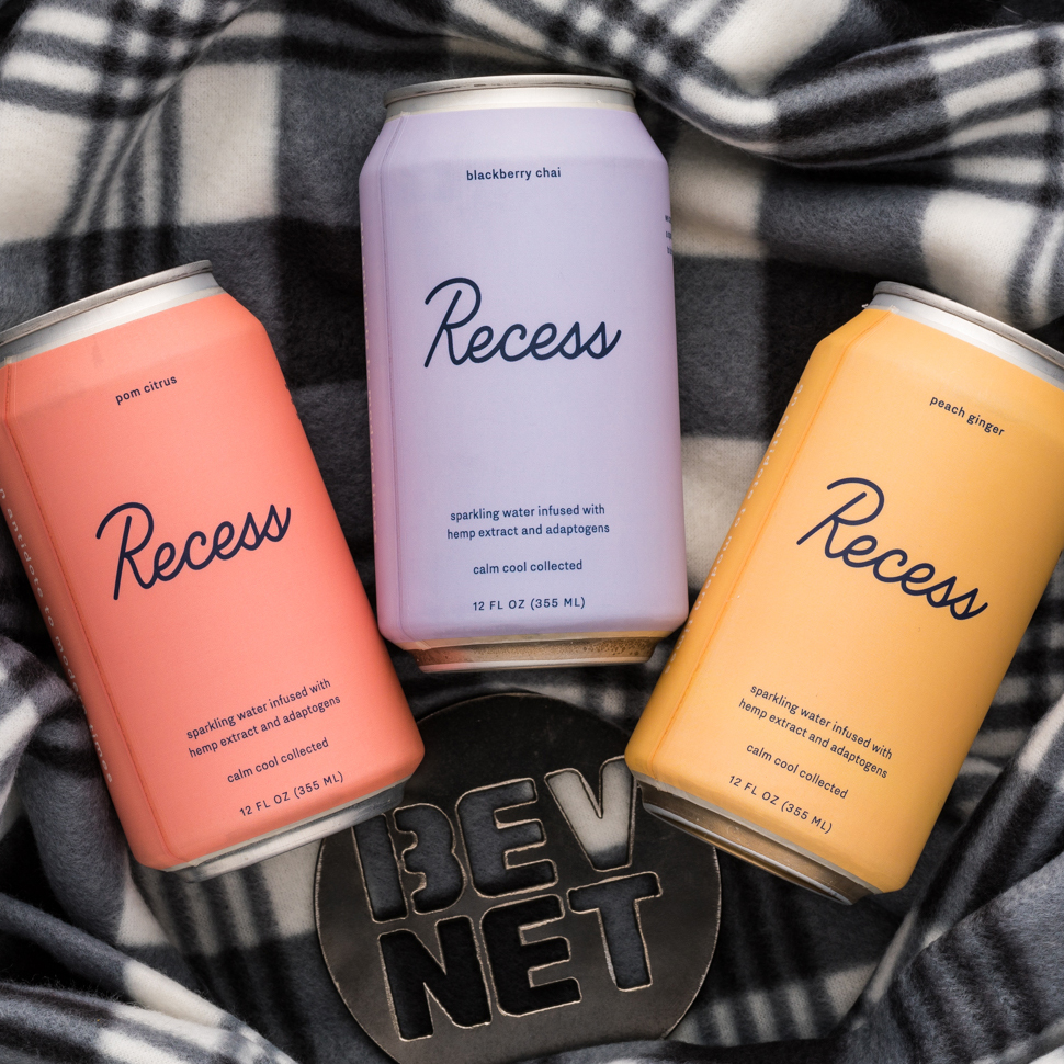 Review: Recess Flavored Sparkling Water with CBD