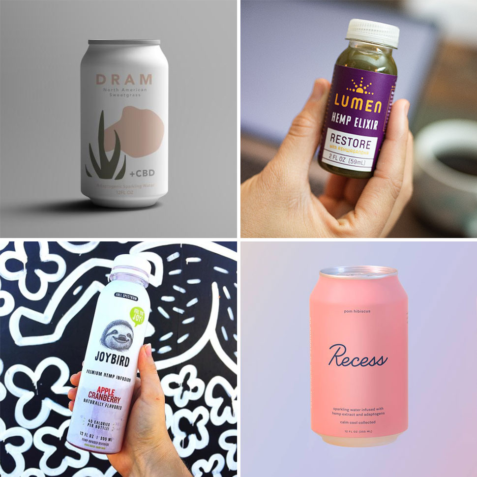 Flower Power: New CBD Beverages Offer Relaxation, Relief
