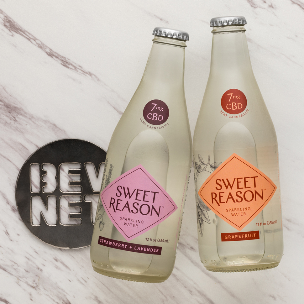 Review: Sweet Reason Sparkling Water with CBD
