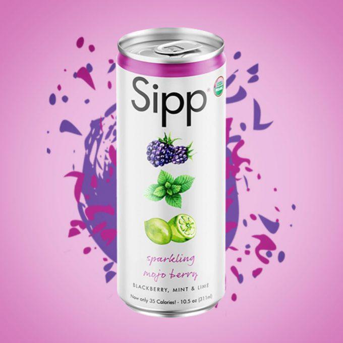 Sipp Rebrand Embraces Better-For-You Platform
