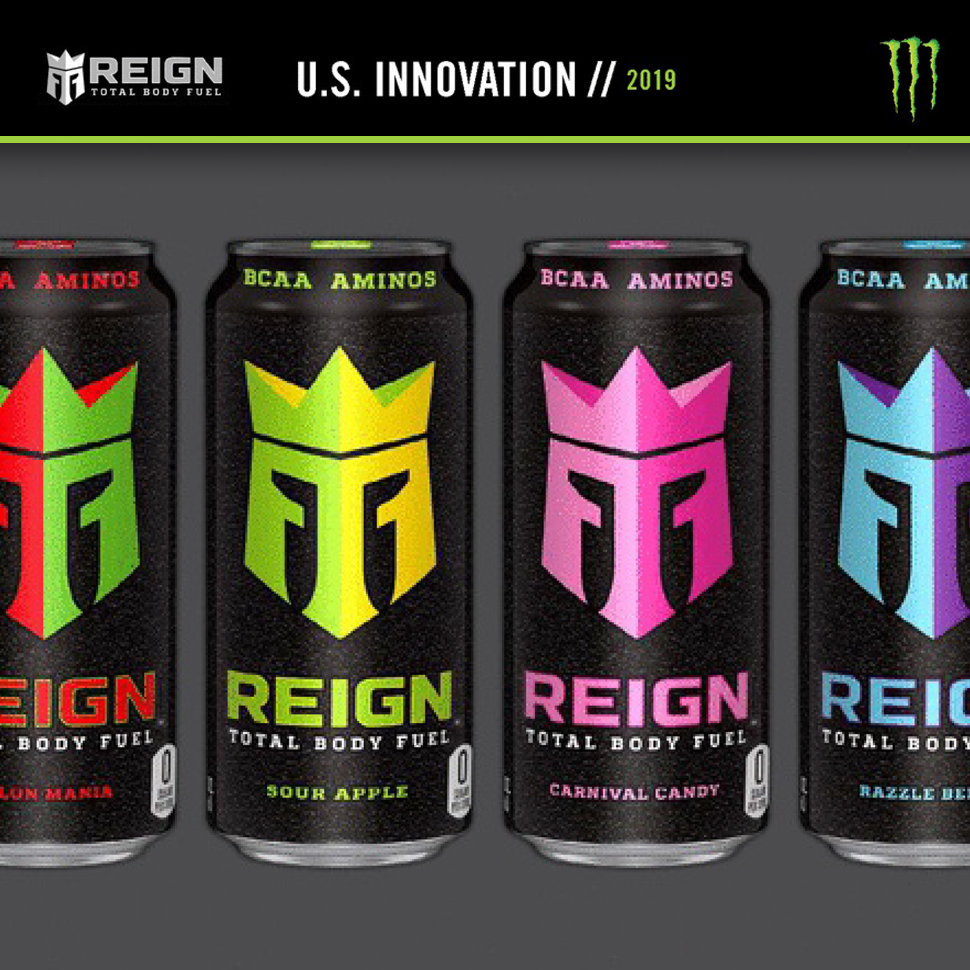 Monster Reveals Performance Energy Tea Innovations Bevnet Com