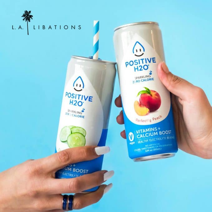 Positive Beverage Partners with L.A. Libations