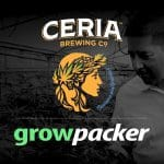 THC-Infused Beer Maker Ceria Partners with Growpacker in Southern California