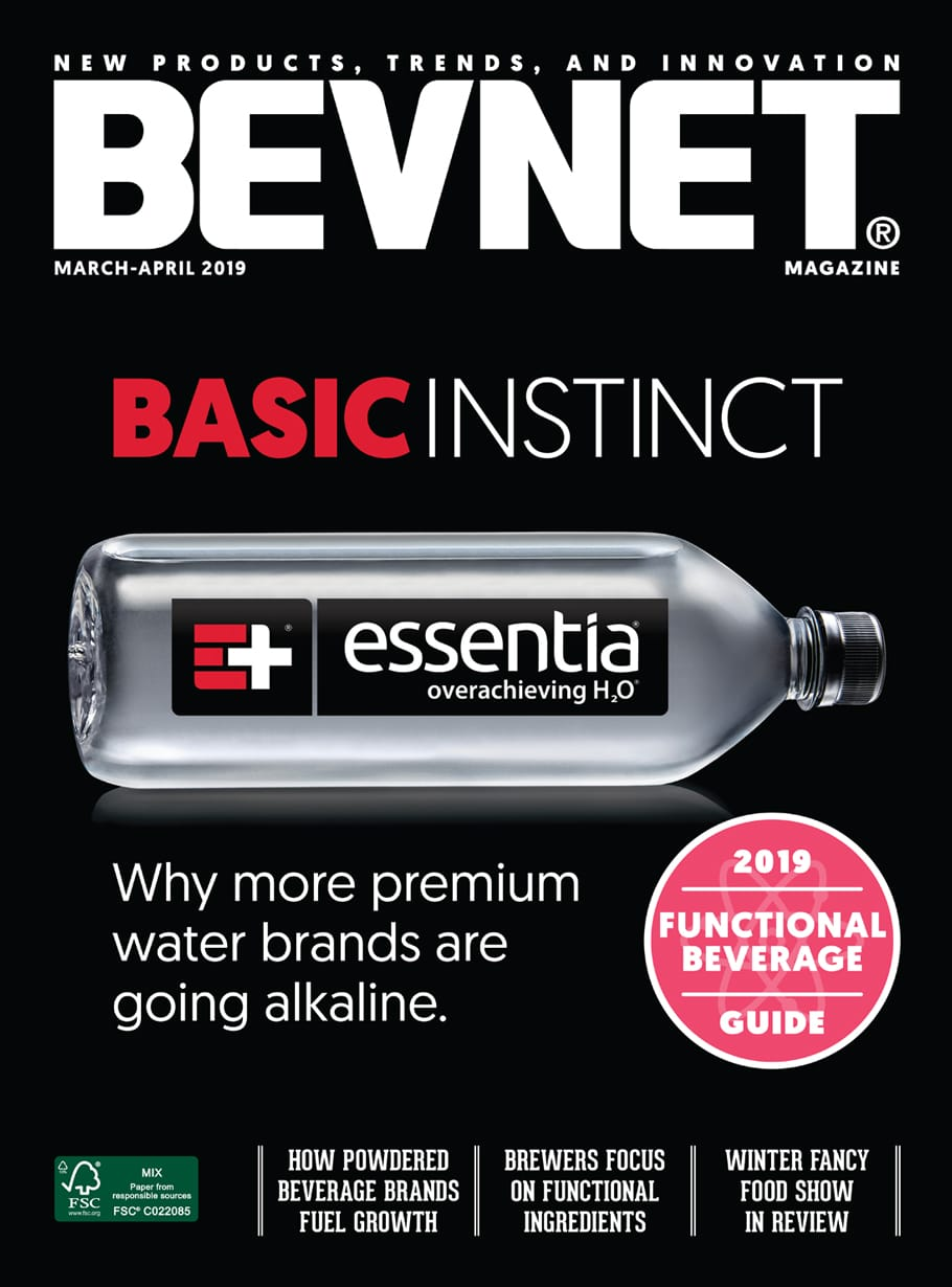Basic Instinct: Why More Premium Water Brands Are Going Alkaline