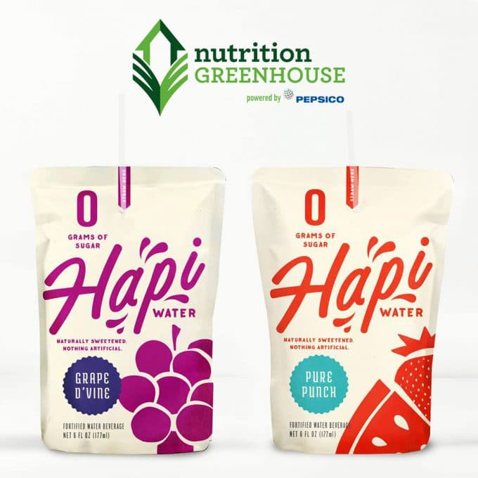 Hapi Drinks Lands PepsiCo Greenhouse Grant