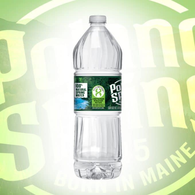 Poland Spring Announces Transition to 100% rPET by 2022