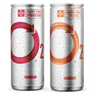 , O2 Launches Oxygenated CBD Recovery Drink, Styding CBD, Styding CBD