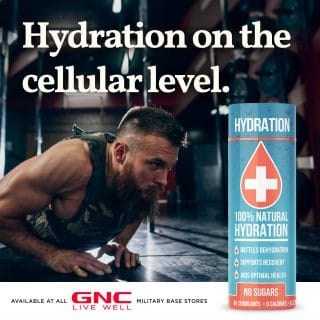 ORAL I V  Launches in 120 Military Based GNC Stores - BevNET com