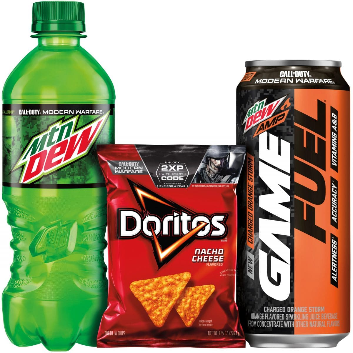 Mtn Dew and Mtn Dew Amp Game Fuel Join Activision to