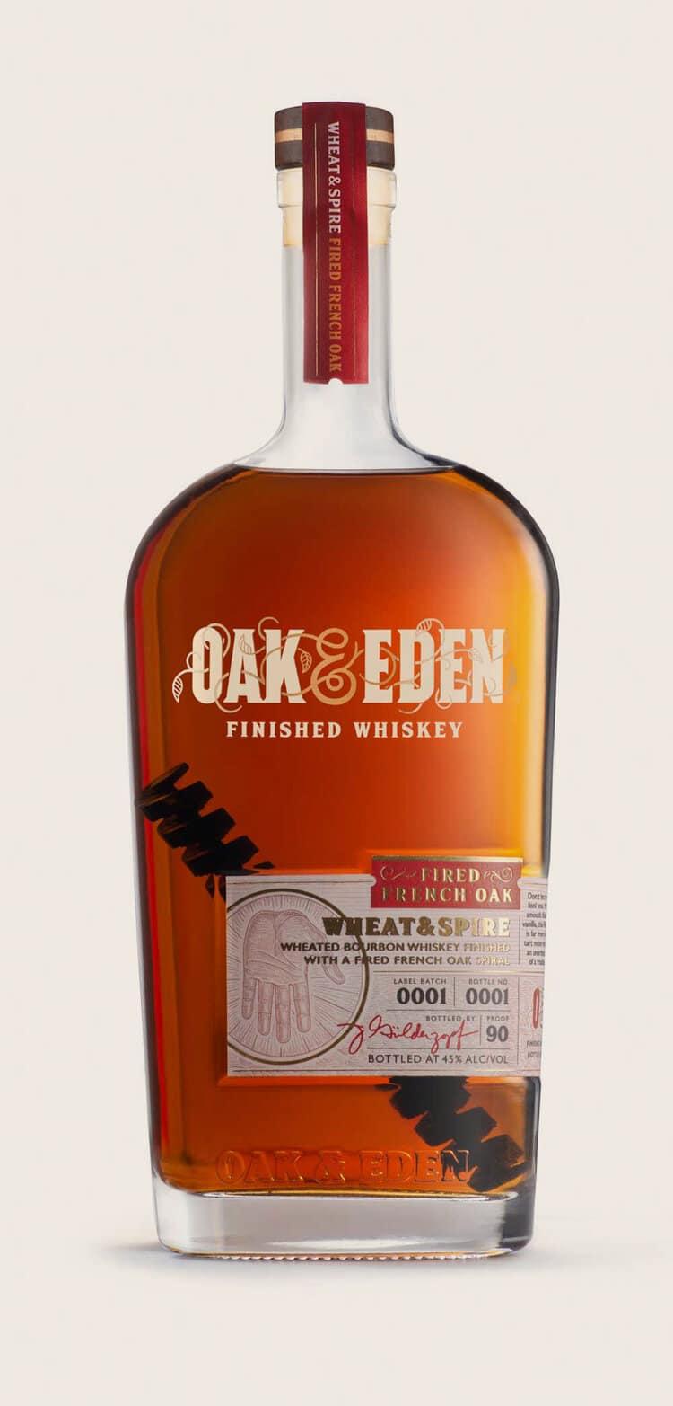 Oak Eden Whiskey Releases Wheat Spire Wheated Bourbon