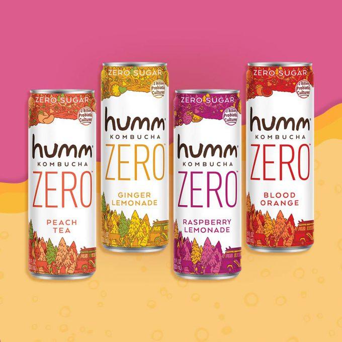 Humm Announces Launch of Zero Sugar Kombucha Line