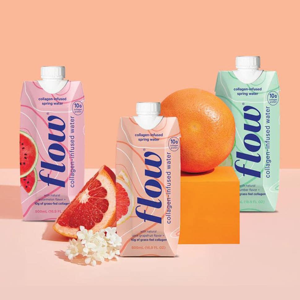 Flow to Use BOONS Acquisition to Launch Collagen Infused Water - BevNET.com