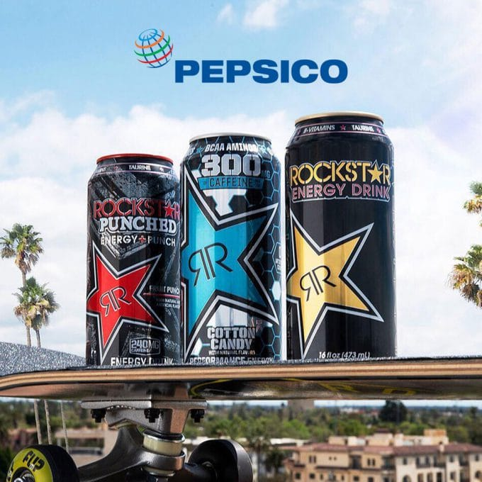 PepsiCo Acquires Rockstar Energy for $3.85 Billion
