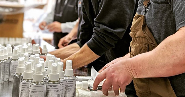 Lexington, Kentucky Distillery Responds to Coronavirus Crisis by Making Hand Sanitizer