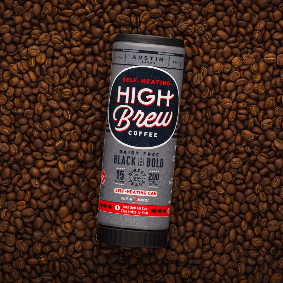 High Brew Coffee's Self Heating Coffee