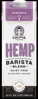 Califia Farms Launches New Mushroom Oat and Hemp Barista Blends