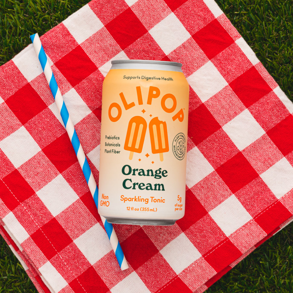 Olipop Orange Cream