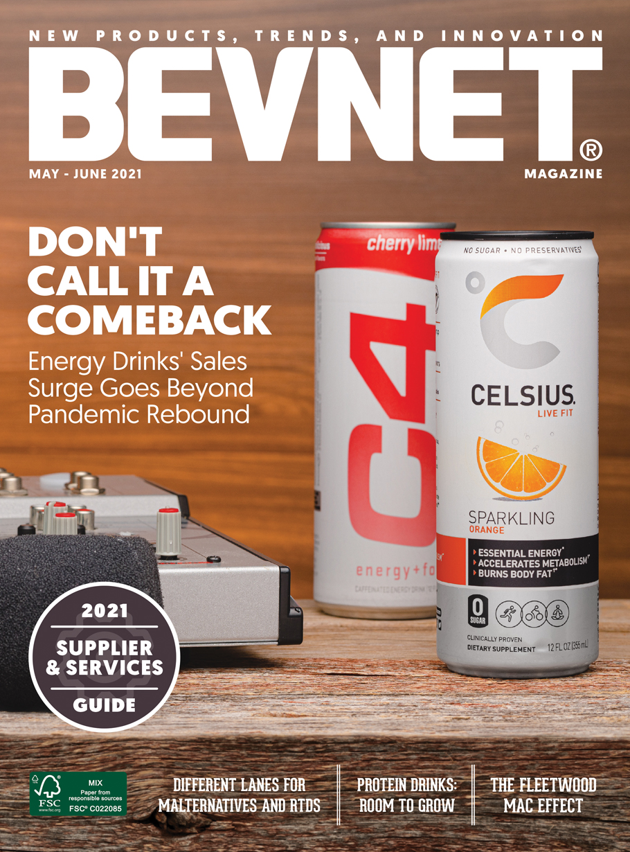 Don't Call It A Comeback: Energy Drinks' Sales Surge Goes Beyond Pandemic Rebound