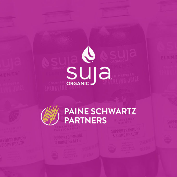 Suja Acquired By PE Firm Paine Schwartz