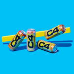 """C4 Launches Starburst-Flavored Energy Line, """"Mobile Candy"""" Campaign"""