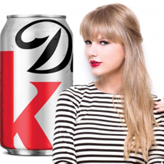 Diet Coke Taylor Swift