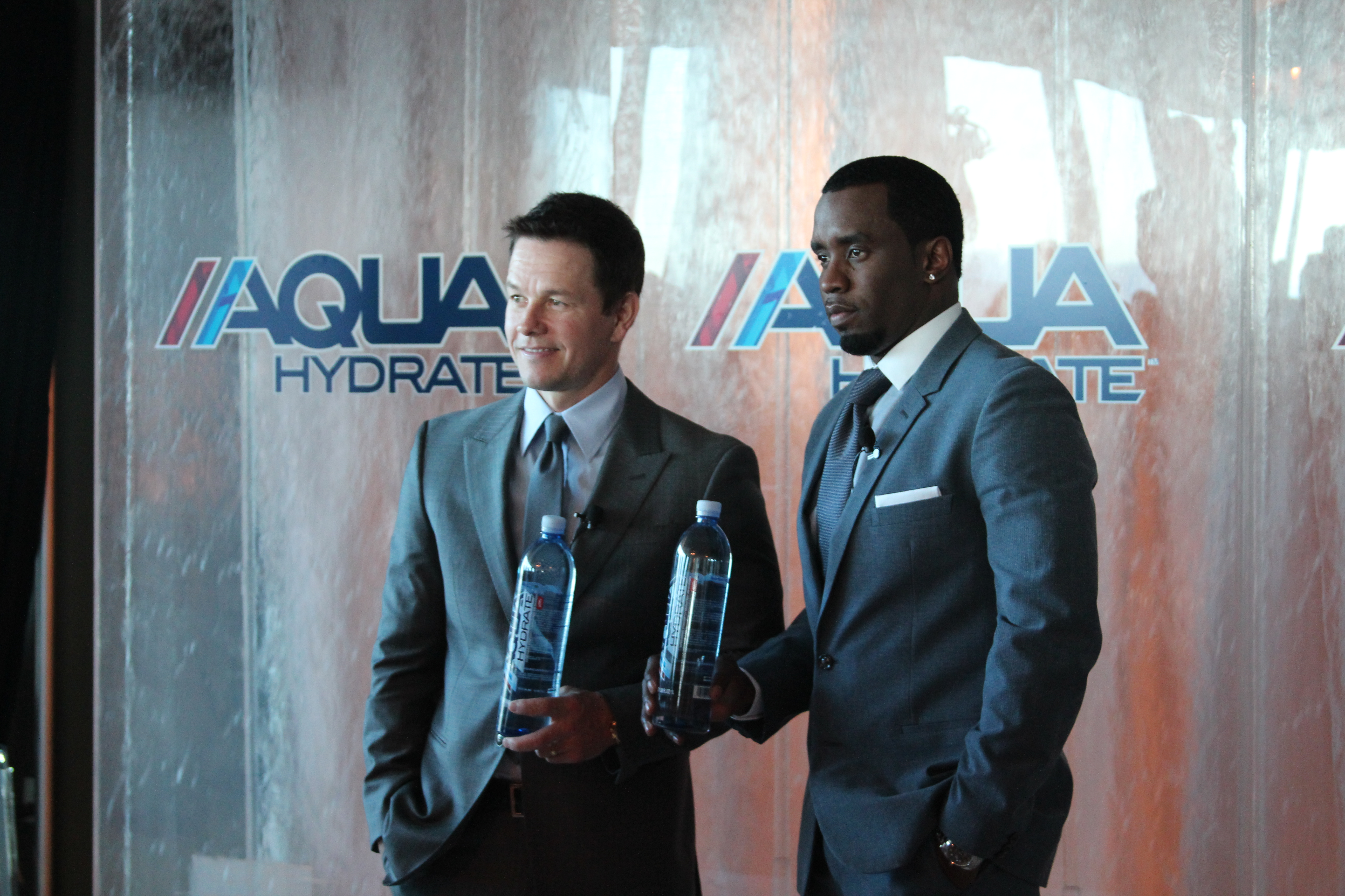 Mark Wahlberg & Sean (Diddy) Combs, AQUAHydrate