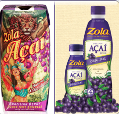 Zola has gone a long way with its packaging. See the before, left, and after.