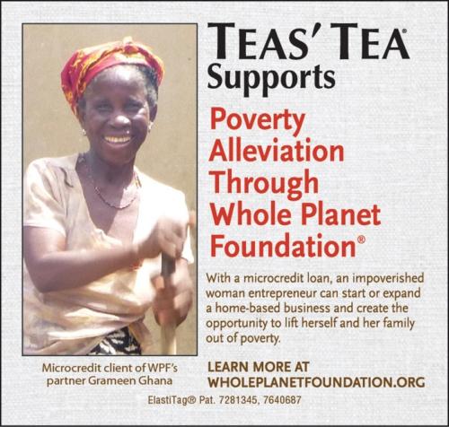 ITO EN TEAS' TEA WHOLE PLANET FOUNDATION