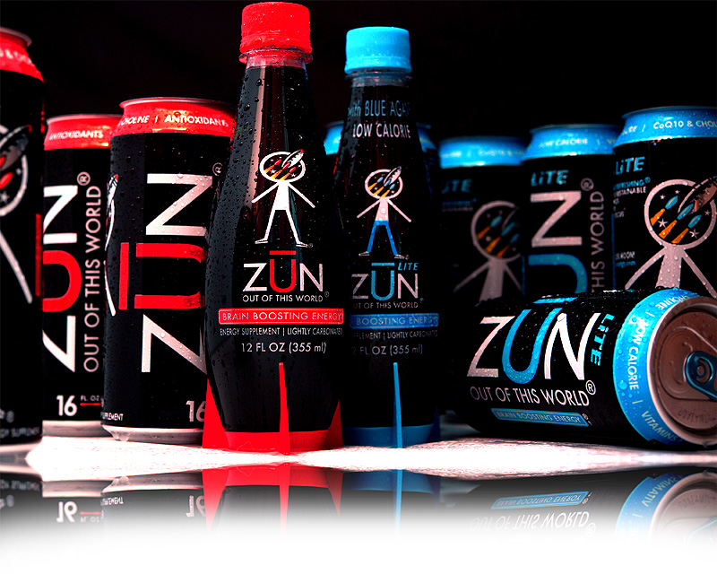 ZUN ENERGY DRINK LINE