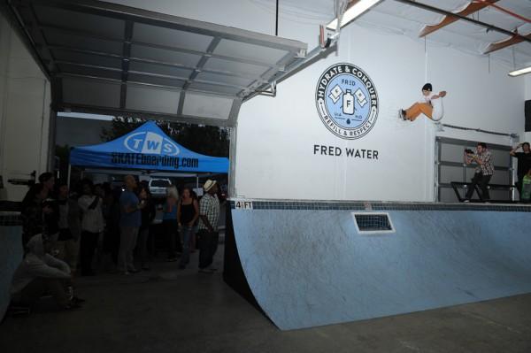 Fred Water's skatepark in Carlsbad, Calif.