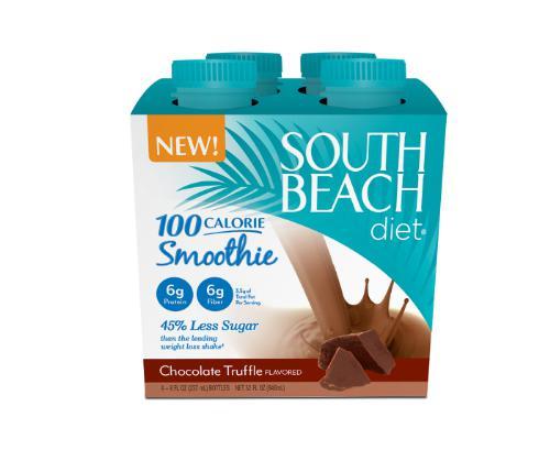 SOUTH BEACH DIET CHOCOLATE TRUFFLE SMOOTHIE